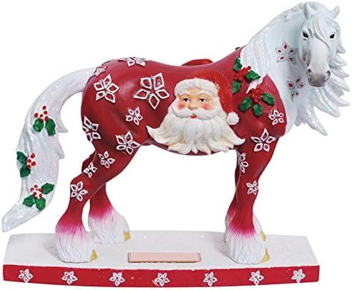 Westland Giftware Horse of a Figurine, Santa Claus
