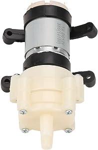 Hyuduo Electric Diaphragm Pump, Self Priming 1.5-2L/Min Fresh Water Sprayer Pump Mini DC 12V for Tea Machine,Water Cooling and Fish Tank