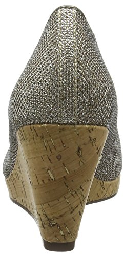 Tamaris 29303 - Zapatos Mujer Plateado - plateado (Platinum Glam 970)