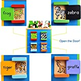 Fun Little Toys 5 in 1 Toddlers Learning Based Wooden Multi-Functional Educational Busy Zoo Baby Bead Activity Cube Treasure Box