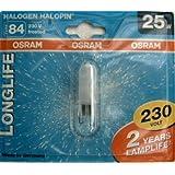 Osram Halogenlampe Halopin Longlife 25W 230V G9 klar