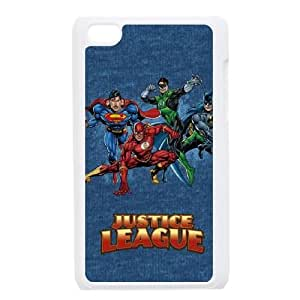iPod Touch 4 Case White Justice League Heroes R4B3HO