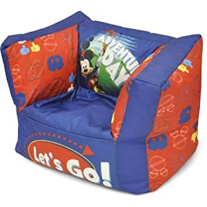 mickey mouse square bean bag chair kitchen dining. Black Bedroom Furniture Sets. Home Design Ideas