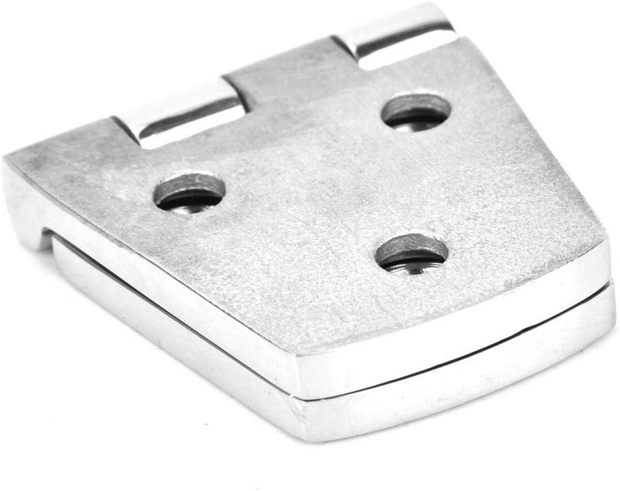 EBTOOLS Montaggi dellhardware dellinstallazione della mobilia della porta dellacciaio inossidabile della cerniera di 6 fori 1,5 x 3in