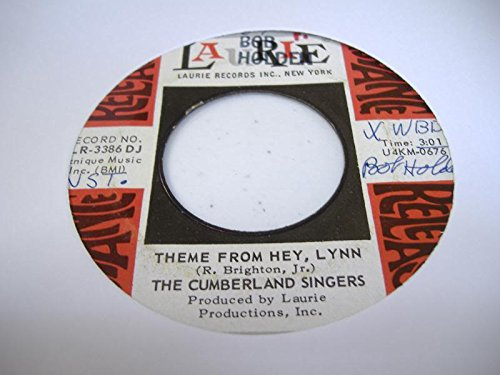 THE CUMBERLAND SINGERS 45 RPM Theme From Hey, Lynn / - The Cumberland Mall
