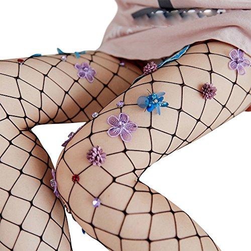 - Wensltd Clearance! Women Sexy Hosiery Black Fishnet Elastic Thigh High Stockings (Black)