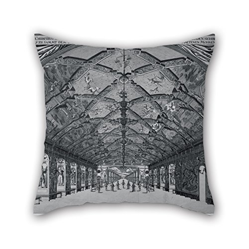 [Alphadecor Pillowcover Of Oil Painting Johann Atzelt - The Giants' Hall With The Moorish Ballet In Dresden In 1678 20 X 20 Inches / 50 By 50 Cm,best Fit For Home Office,seat,kids] (The Incredibles Costumes Nz)