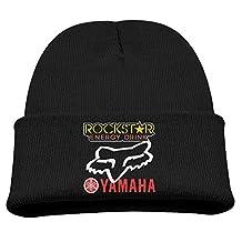 Rockstar Energy Yamaha Fox Racing Warm Winter Hat Knit Beanie Skull Cap Cuff Beanie Hat Winter Hats Boys