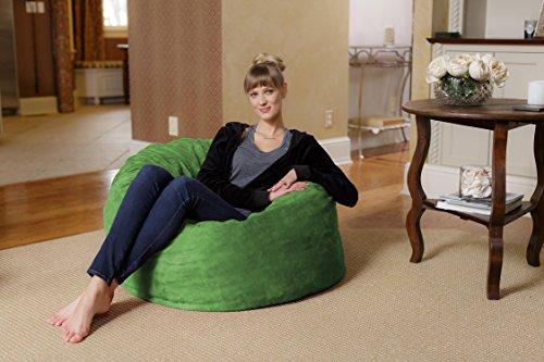 Chill Sack Bean Bag Chair Large 3 Memory Foam Furniture