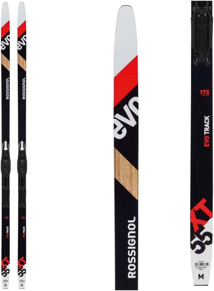 Rossignol EVO XT 55 Mens XC Skis 175 W//Tour Step in Bindings
