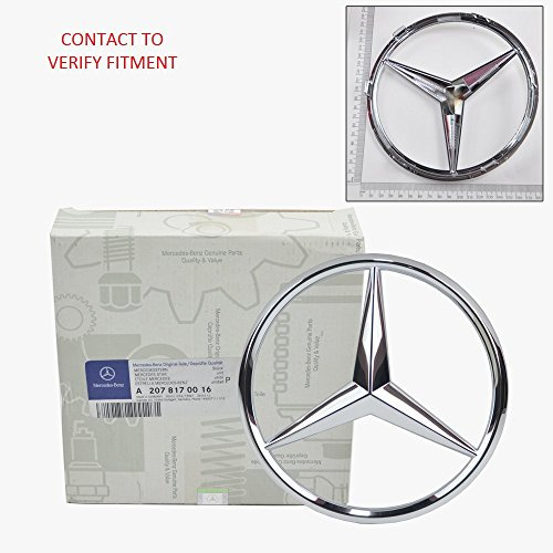 Mercedes-Benz Front Grill Star Emblem Genuine Original 2070016