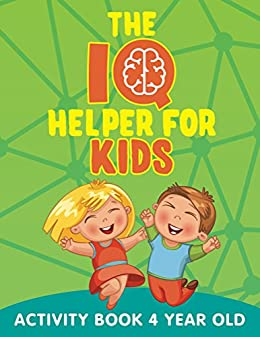 the iq helper for kids activity book 4 year old kids activity book series - Activity Books For 4 Year Olds