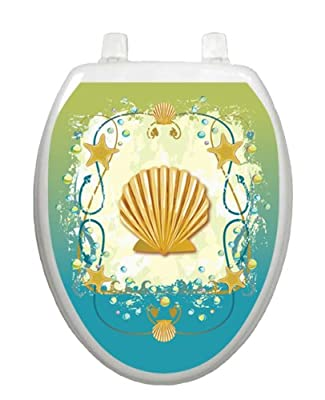 Shell Game TT-1017-O Elongated Theme Cover Bathroom