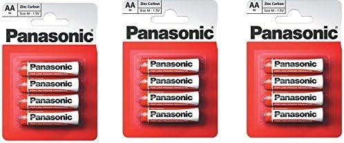 Panasonic 1145 Zinc R06r Aa Mignon Special Power Battery Küche Haushalt