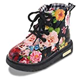Maxu Kid Girl's Floral Boots L