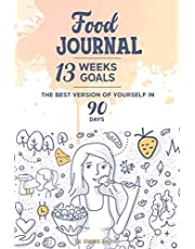 """FOOD JOURNAL: Created by Nutritionist Dr. Simona Meloni, Contains """"The 13 Small Steps Path"""" that help you get back in shape in 90 days while you stay motivated. Daily diary to keep track of your foods, physical activity, and much more"""