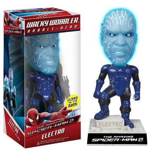 Electro Bobble Head Figure: The Amazing Spider-Man 2 x Wacky Wobblers Series