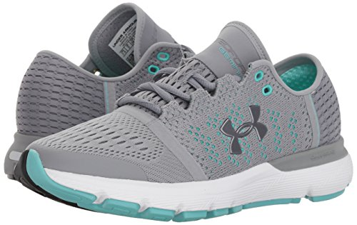 100 Femme De Vent Ua Gemini Speedform W Armour steel Under Running Chaussures Gris q0xnza70w