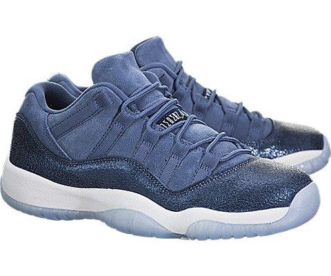 Jordan Kids Air 11 Retro Low GG, BLUE MOON/MIDNIGHT NAVY-WHITE, Youth Size 5