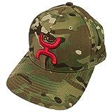 HOOey Brand Chris Kyle Black/Multi Camo Snapback Hat - CK014