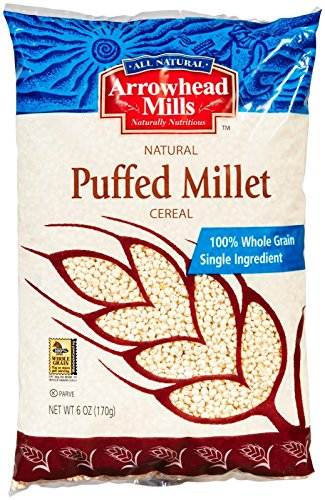Arrowhead Mills Cereal Puffed Millet-6 - Nut Mills Butters Arrowhead