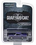 "1970 Plymouth Road Runner Purple ""Graveyard Carz"" (2012) TV Series Hollywood Series 20 1/64 Diecast Model Car by Greenlight 44800 D"