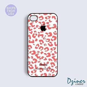 iPhone 6 Plus Tough Case - 5.5 inch model - Pink Leaopard iPhone Cover wangjiang maoyi