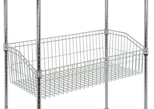 Nexel WB1848C Shelving Unit Basket, 48