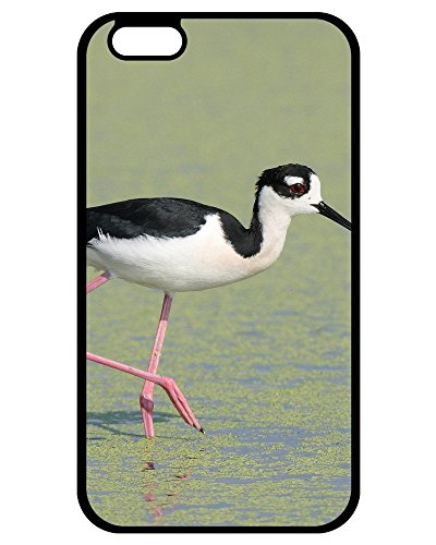 Personality pictures Best Cute Hard Plastic Black-necked Stilt Bird - Black-necked Stilt Bird Hard Plastic Case Cover For iPhone 7/iPhone 8 For Design By [Zhao Liang]
