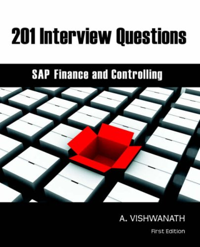 Download 201 Interview Questions - SAP Finance and Controlling pdf epub