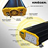Krieger 1500 Watts Power Inverter 12V to