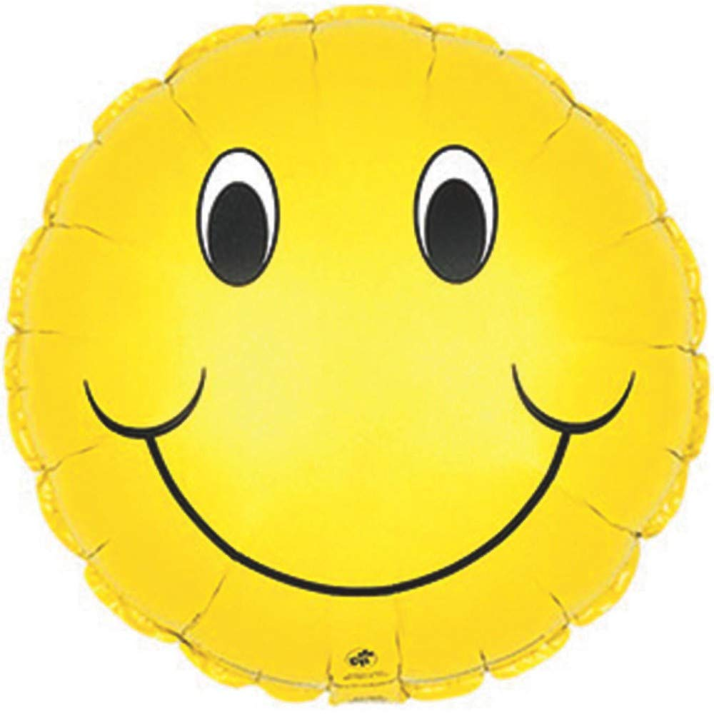 18 Smiley Face Cti 1 per package