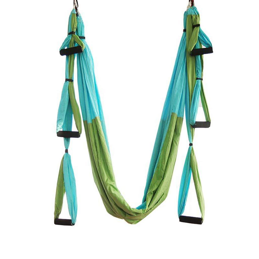 HappyTime Aerial Yoga Stretch Bett Hängematte, 2,5 m  1,5 m, geeignet für 2 m-2,7 m