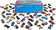 Hot Wheels 50-Car Pack of 1:64 Scale Vehicles Individually Packaged​, Gift for Collectors & Kids Ages 3 Ye