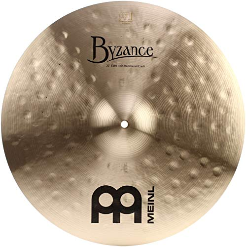 Meinl Cymbals B20ETHC Byzance 20-Inch Traditional Extra Thin Hammered Crash Cymbal (VIDEO) ()
