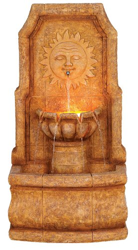 Lighted Wall Fountains Outdoor in US - 8