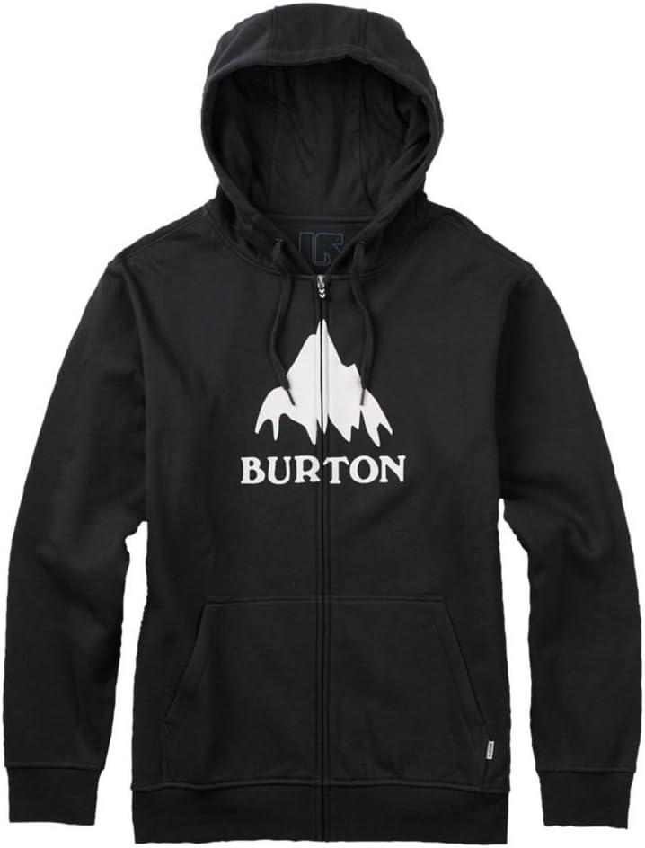 Burton Mens Classic Mountain High Full-Zip Hoodie Sweatshirt