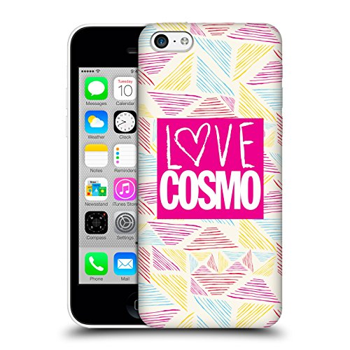 Official Cosmopolitan Scribble Love Cosmo Hard Back Case for Apple iPhone 5c