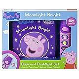 Peppa Pig - Moonlight Bright Sound Book and Flashlight Set - PI Kids