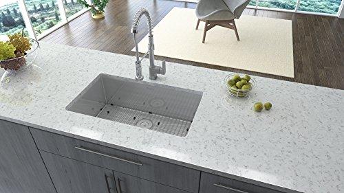 Ruvati Undermount Gauge Radius Kitchen Sink Stainless Single Bowl