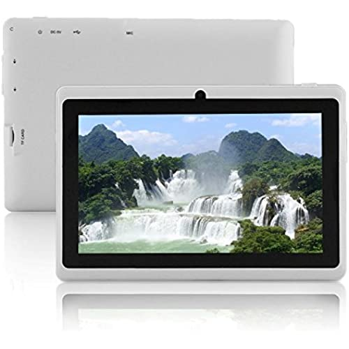 7 Dual Core Tablet Pc Android 4.4 Bluetooth Wifi Tablet Pc Be Good For And Gift Given 7 Inch Tab Pc^.Blue Coupons