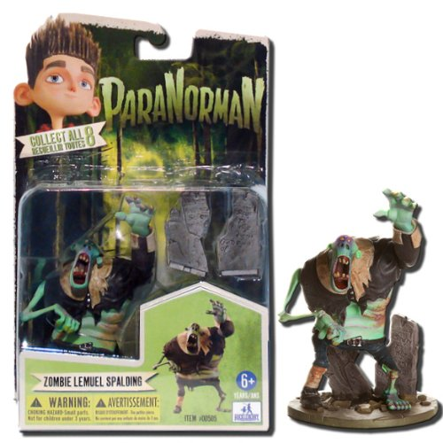ParaNorman Zombie Lemuel Spalding 4-Inch Action Figure by Huckleberry Toys