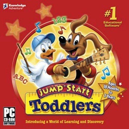 Jumpstart Toddlers (Preschool Computer Software)