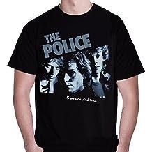 Police Reggatta de Blanc Men's T-shirt, Black