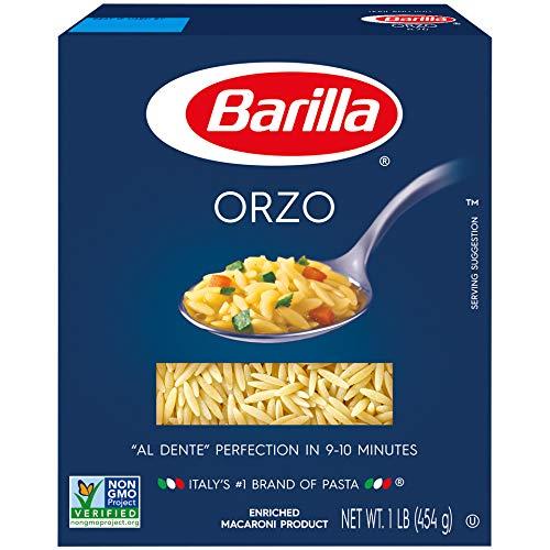 Barilla Pasta, Orzo Pasta, 16 Ounces -