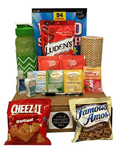 Get Well Soon Care Package - Several to Choose From - (A Dose of Get Well Cheer) (Soup Gift Basket Ideas)