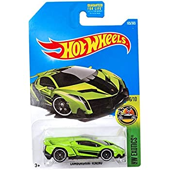 Amazon Com Hot Wheels 2017 Hw Exotics Lamborghini Veneno 165 365