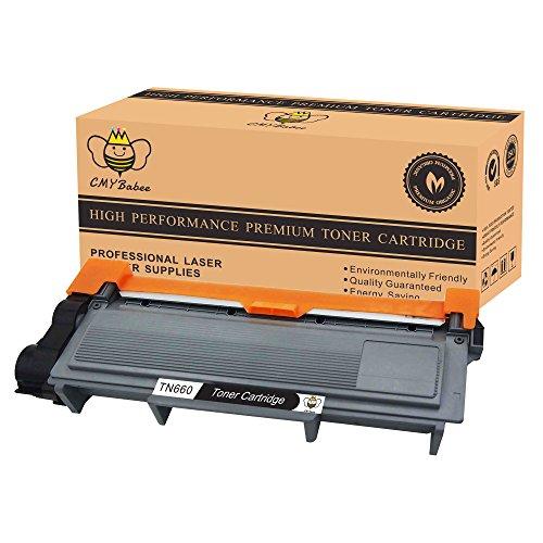 CMYBabee 1 Pack Black High Yield Replacement Toner Cartridges for Brother TN630 TN660 HL-L2340DW HL-L2300D HL-L2380DW MFC-L2700DW L2740DW DCP-L2540DW L2520DW HL-L2320D MFC-L2720DW L2740DW Printer