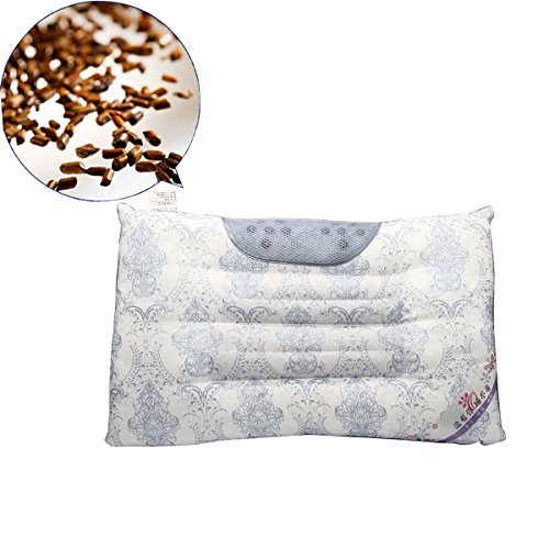 Mochiglory Magnetic Pearl Cotton Cassia Buckwheat Lavender Health Care Cervical Neck Pillow Sleep Quality ()