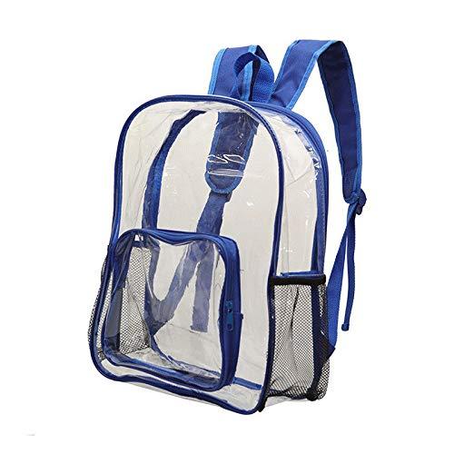 capacité à Greetuny Grand transparent Mode dos PVC No Sac étanche Cartable d'école 1 Etudidant rrvA1